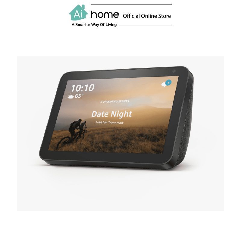 AMAZON Echo Show 8 (Black) [ Smart Speaker ] Build in Alexa Assistant with Touch Screen with 1 Year Malaysia Warranty [ Ai Home ] AMAZON Echo Show 8