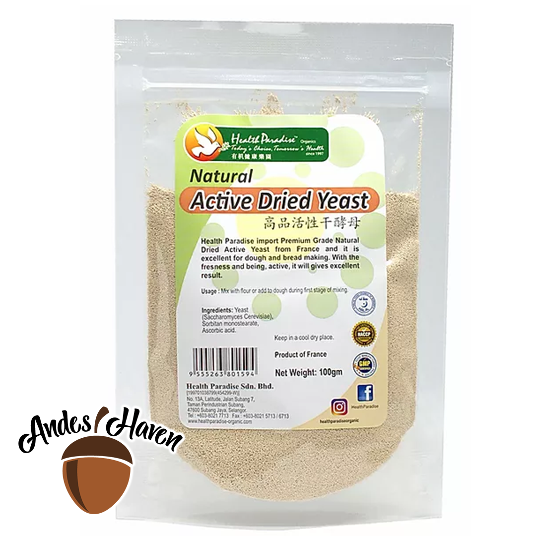 【Health Paradise】高品活性干酵母 Natural Active Dried Yeast - 100g