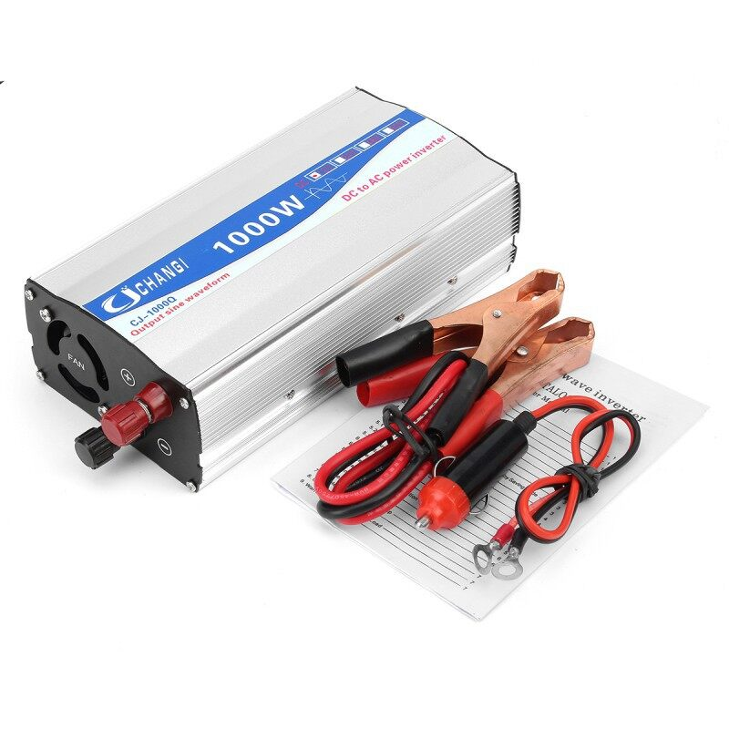 Motorcycles, Parts & Accessories - Pure Sine Wave Car Power Inverter 1000W DC12V to AC220V AutoP - Automotive