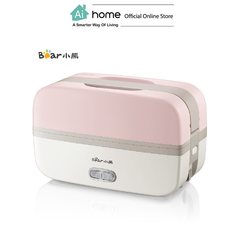 BEAR Smart Electric Lunch Box DFH-B10J2 (Pink) 1.0L with 1 Year Malaysia Warranty [ Ai Home ]