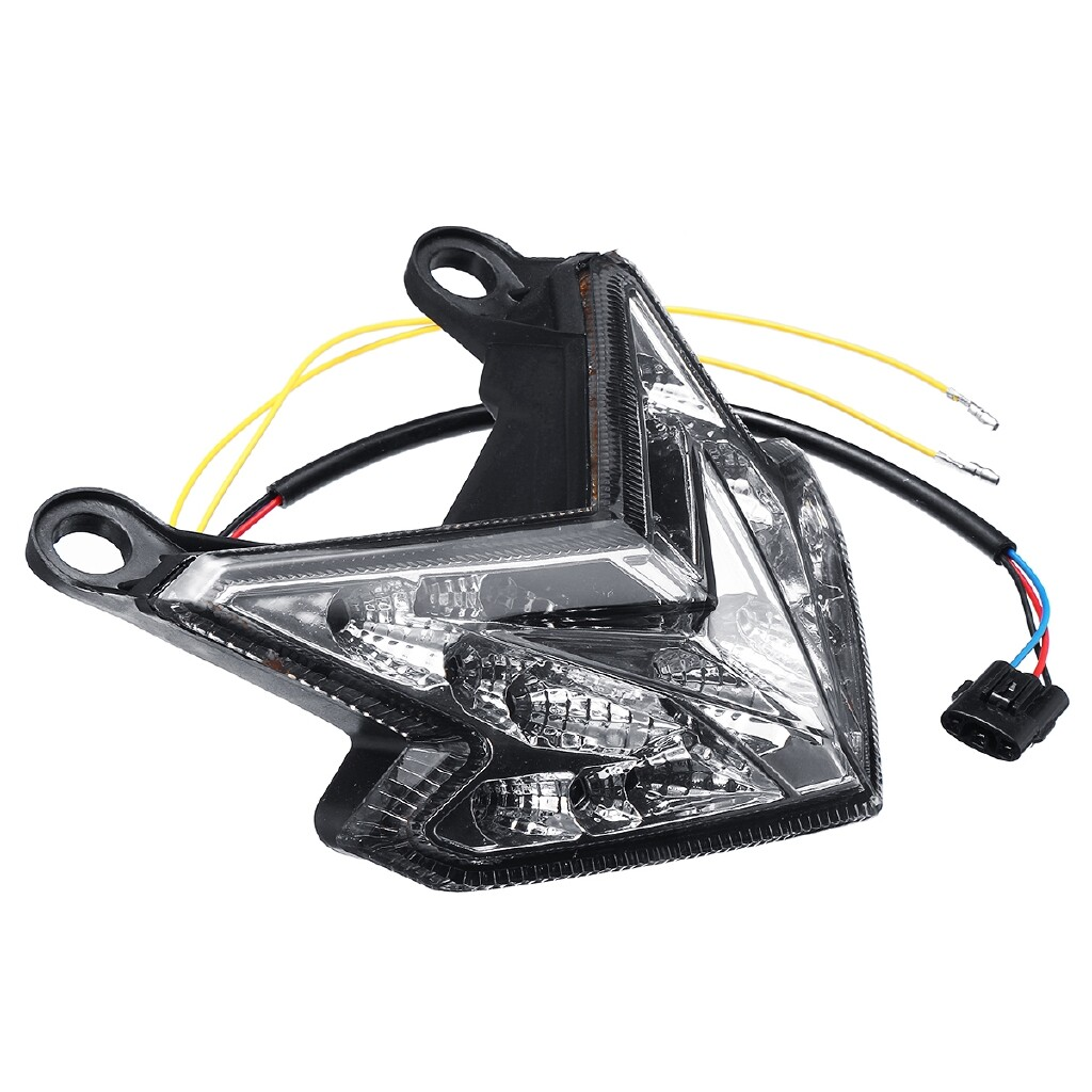 Car Lights - For Kawasaki Ninja ZX6R/Z800/Z125 Pro Integrated Tail Light Turn Signal Lamp LED - Replacement Parts