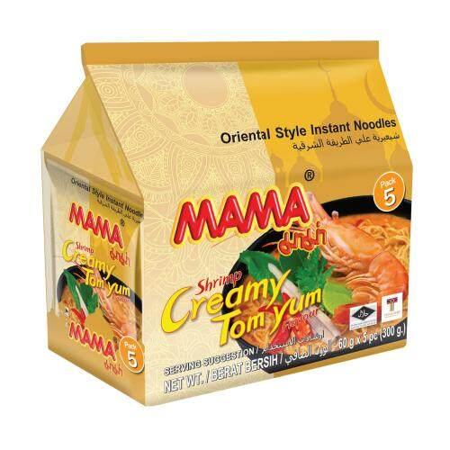 [FSC] MaMa Shrimp Creamy Tom Yum instant Noodles 60gm x 6pkt x 5pc