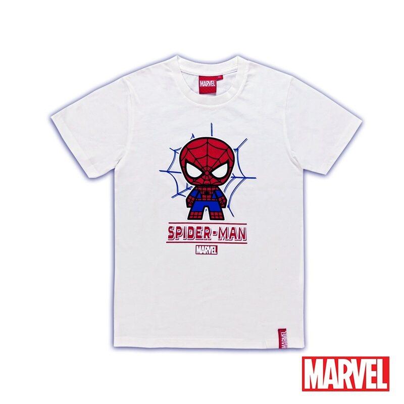 Marvel Genuine Glow in the Dark Kids Avengers Short Sleeve T Shirt White VIM20718K