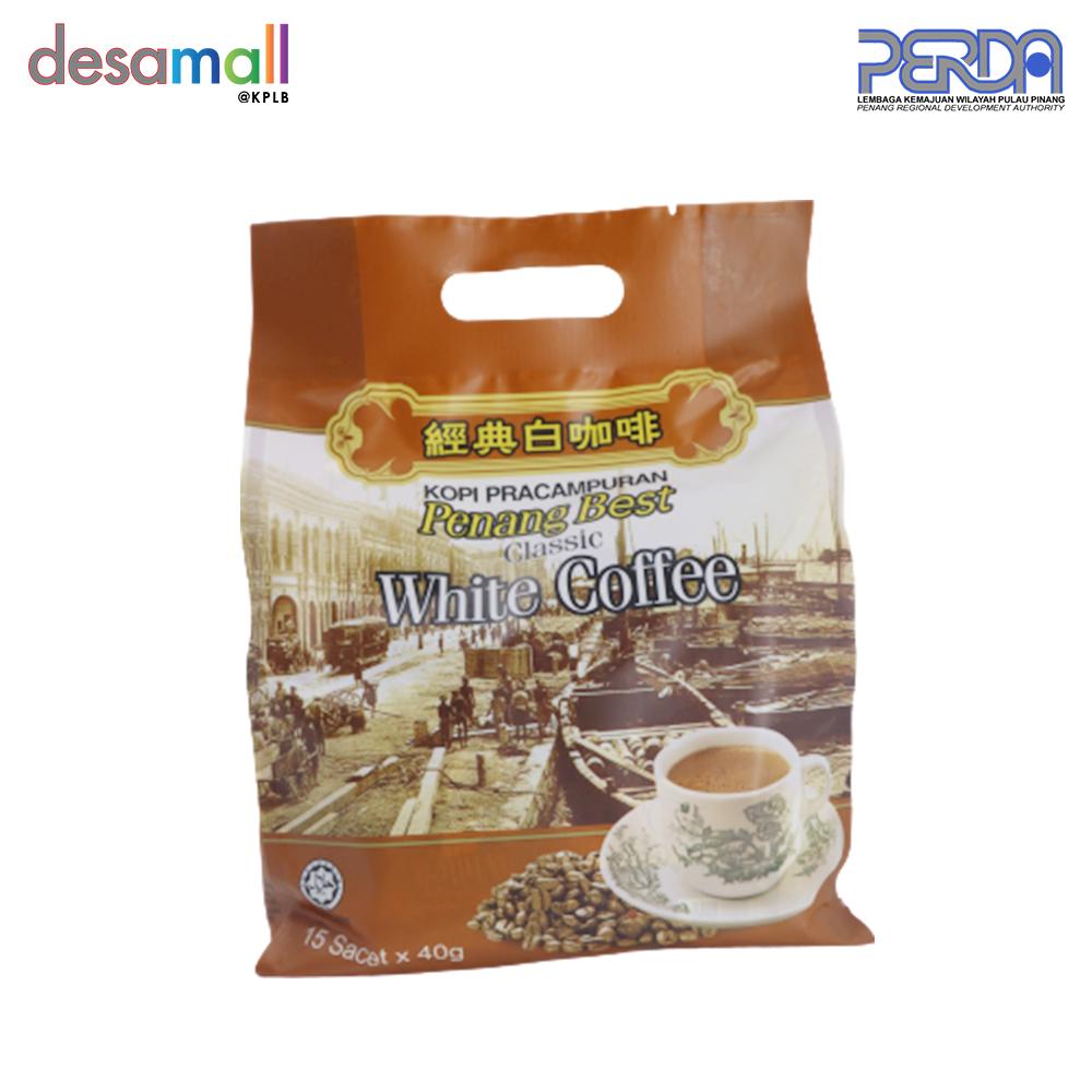 BERTAMBEST Penang Best White Coffee Classic - Original (15 sachets x 40g)