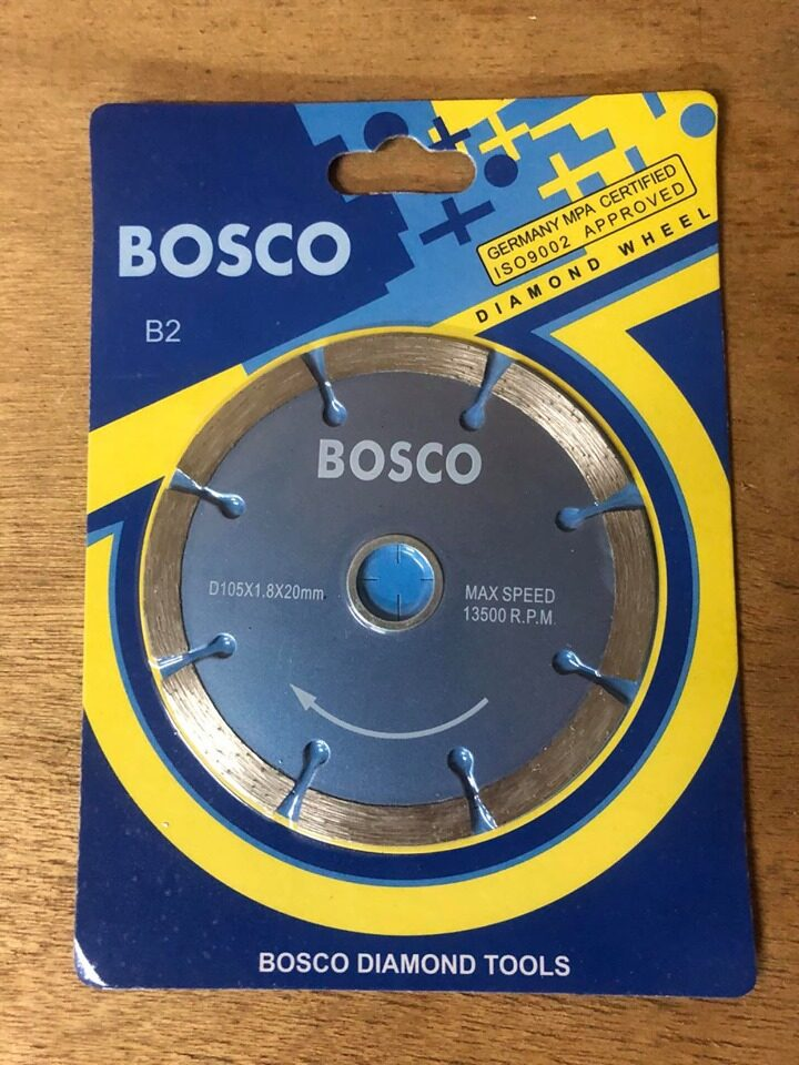 Bosco Diamond Wheel (D105x1.8x20MM)