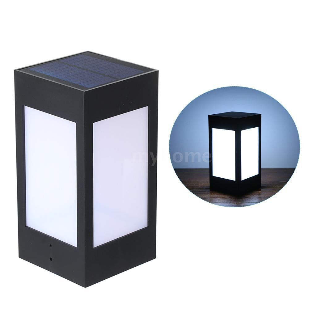 Outdoor Lighting - Outdoor Solar Powered Light Wall Lamp with 12 LEDs IP65 Water-resistant Landscape Lighting for Lawn - WARM LIGHT-L / WHITE LIGHT-L / WARM LIGHT-M / WHITE LIGHT-M / WARM LIGHT-S / WHITE LIGHT-S