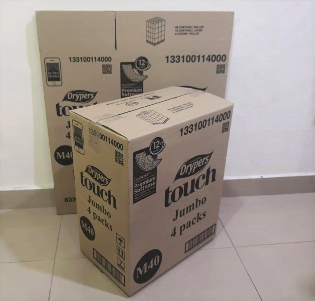 10pcs Printed Carton Boxes (L390 X W245 X H483mm)
