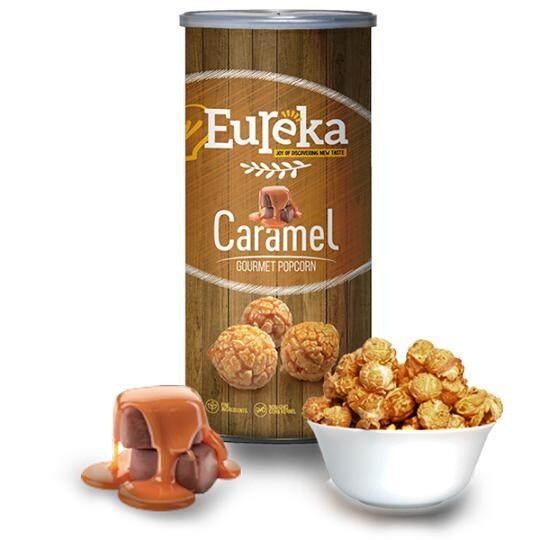 Eureka Caramel Popcorn Snack (Paper Can)