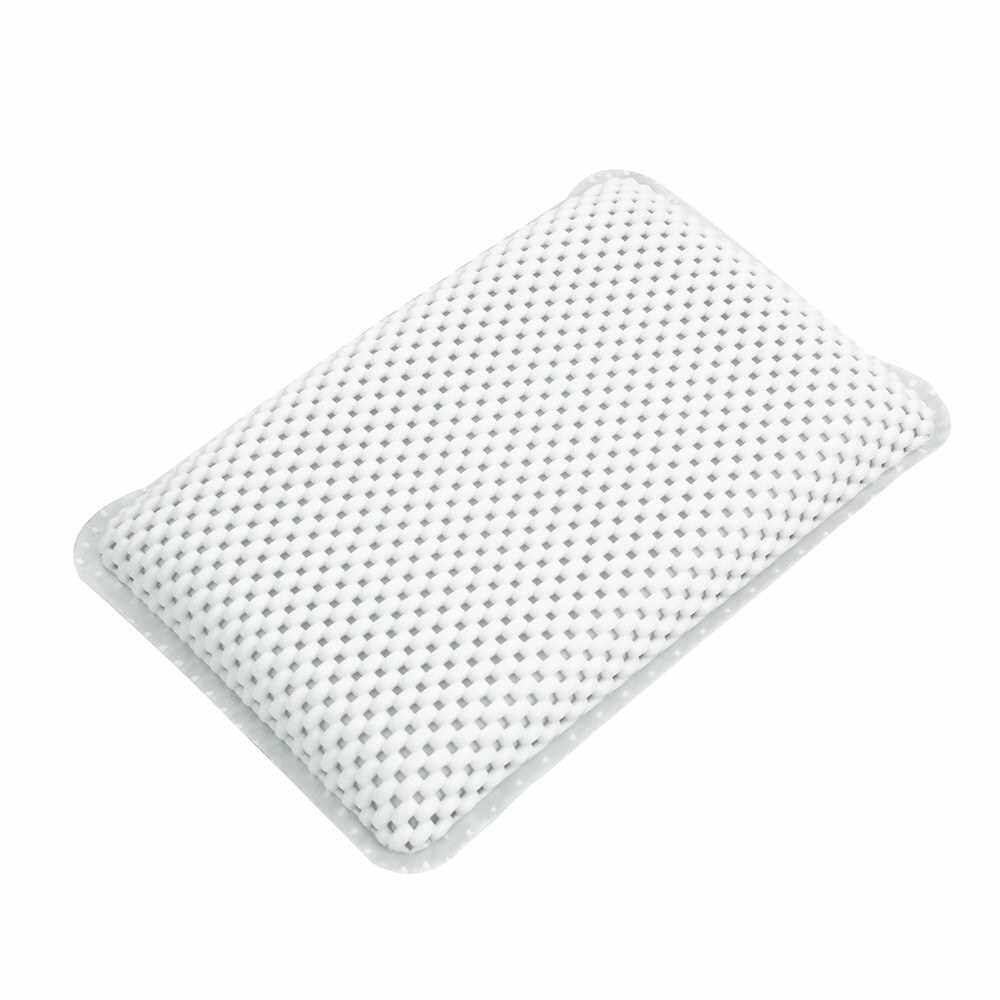 1 Pcs Bathtub and Spa Pillow with Suction Cups Extra Soft for Shoulder and Neck Support Fits Any Size Tub (Standard)