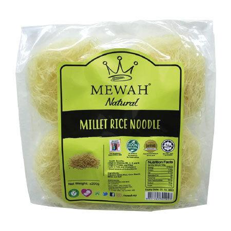 Mewah Millet Rice Noodle 200g