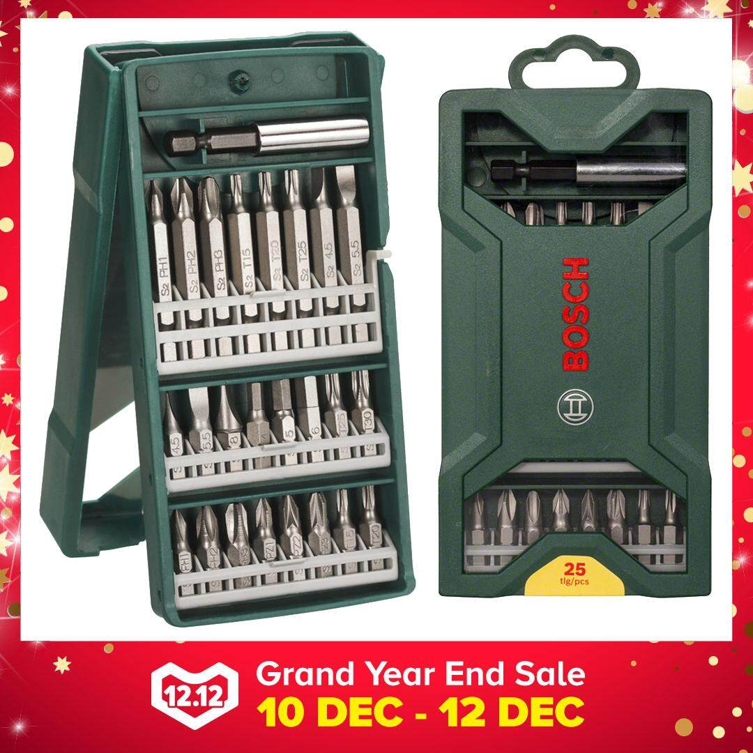Bosch 25pcs Mini-X-Line Screwdriver Bit Set - 2607019676