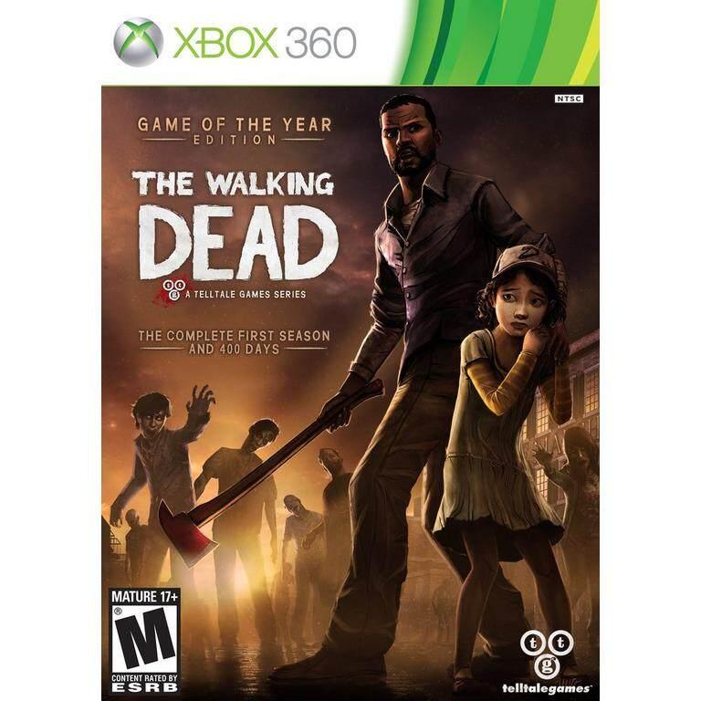 XBOX 360 The Walking Dead GOTY Edition