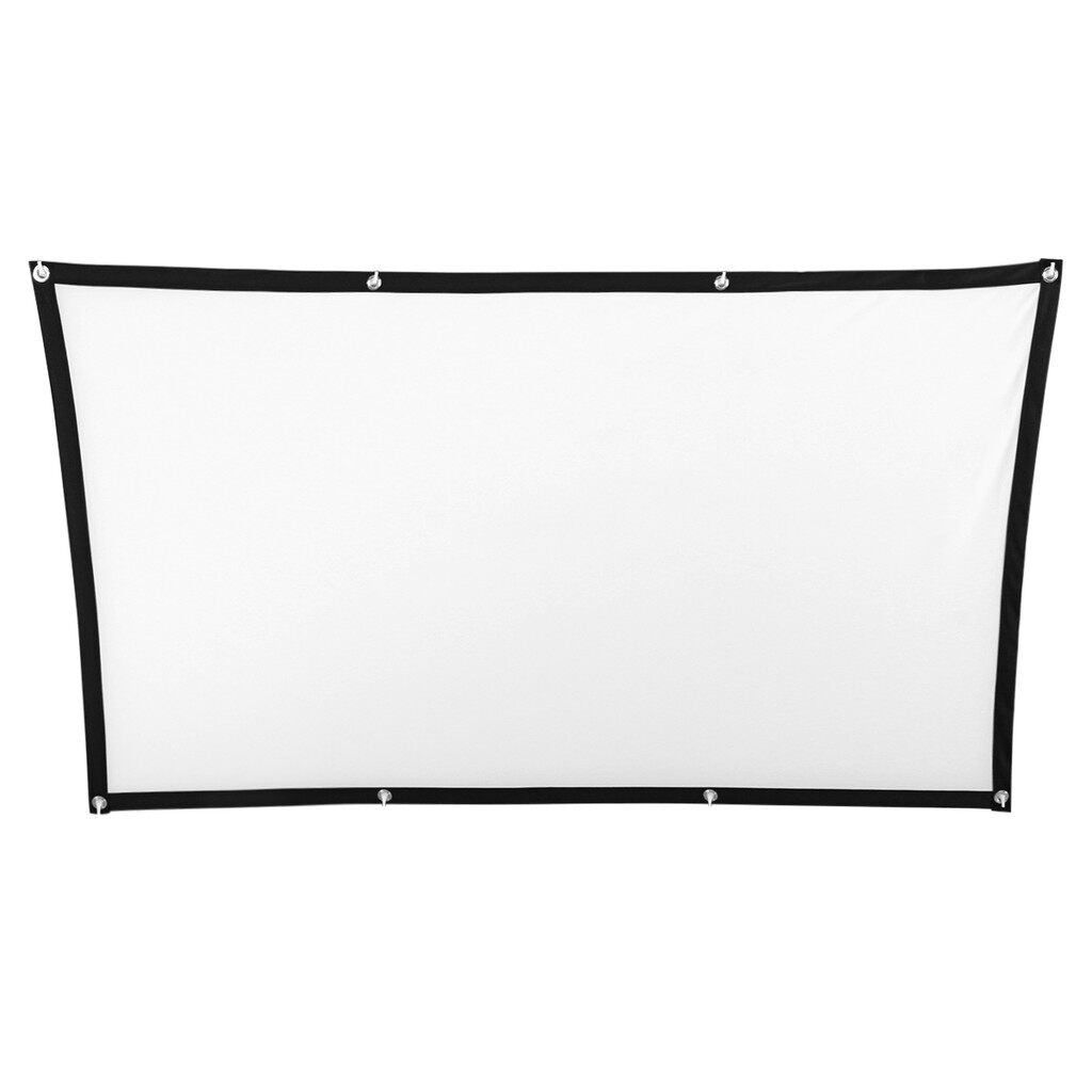 Projectors - 60''/72''Projector Screen 16:9 Home CineTheater Projection - 120 / 100 / 84 / 72 / 60