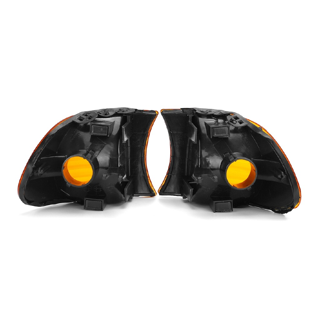 Car Lights - Pair Amber Lens Parking Corner Light Signal Lamp For BMW E38 7 Series 1998-2001 - Replacement Parts