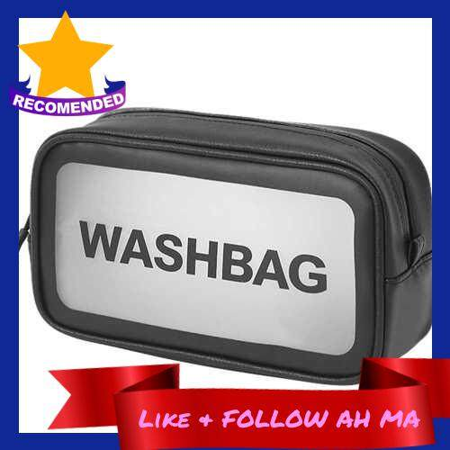 Best Selling Waterproof Bathroom Toiletry Bag Travel Cosmetic Makeup Bag Storage Pouch for Men and Women (Black)