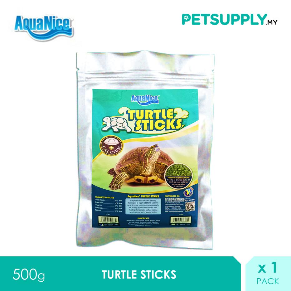 AquaNice Turtle Sticks 500g [Makanan Kura Kura Tortoise Food - Petsupply.my]