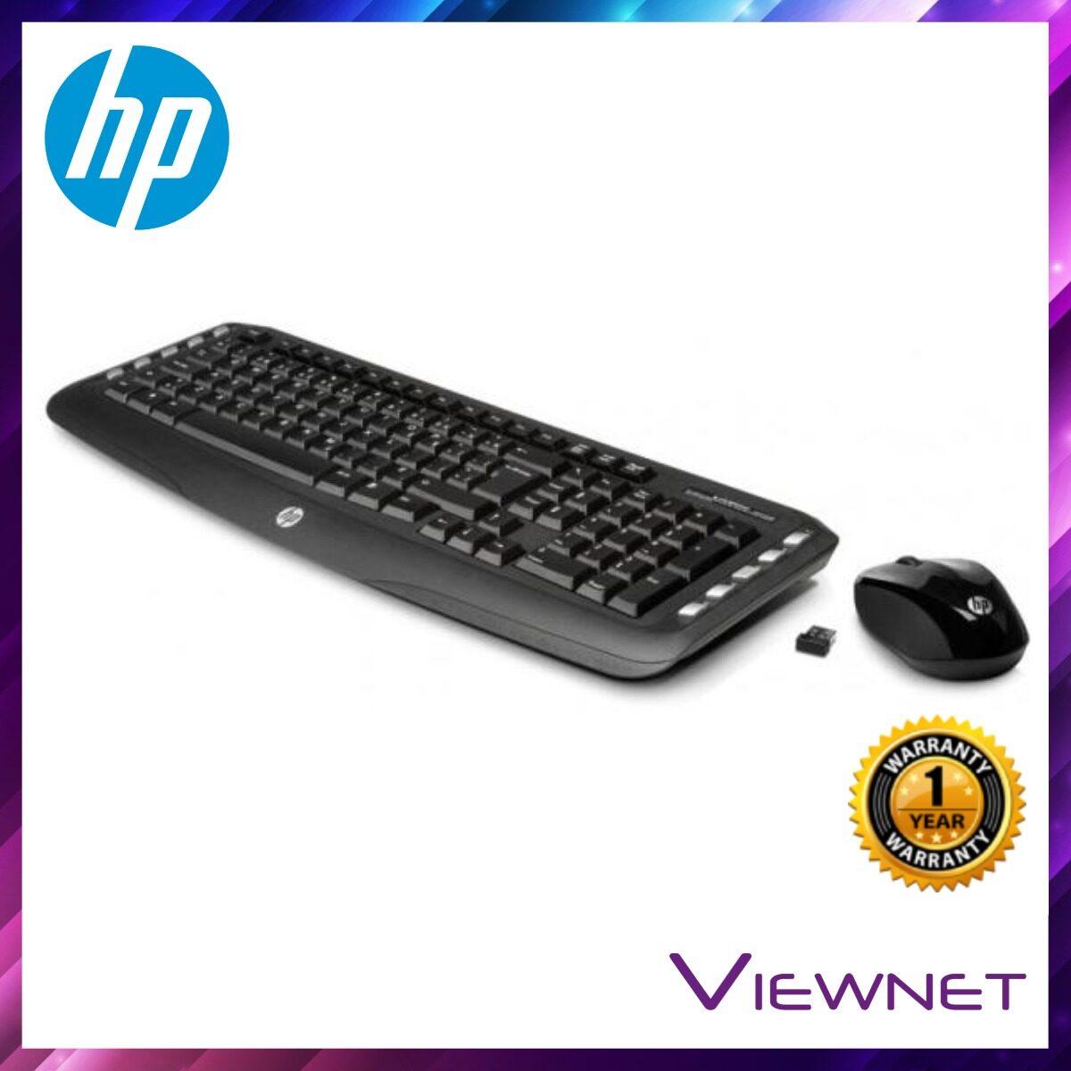 HP Wireless Classic Desktop Combo (J8F13AA#UUF), USB port, Compatible across Windows XP/Vista/7/8