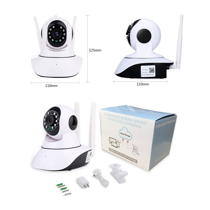 CCTV Security Cameras - 1080P IP CameraWifi & Wired Home Security Camera Surveillance Camera - Systems
