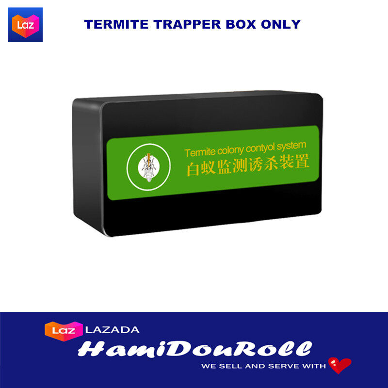 Effective Termite Killer Rule White Ant Lure Box Termite Trapper Kill Termite Bait Box Termite Supplies Economic Forest Farm Supply Odorless Pest Control For Indoor ??????? termite-trapperbox