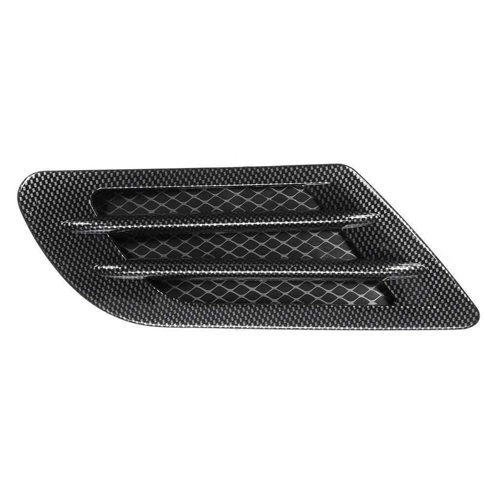Automotive Tools & Equipment - CAR BONNET AIR INTAKE FLOW SIDE FENDER VENT HOOD SCOOP CARBON FIBRE - Car Replacement Parts