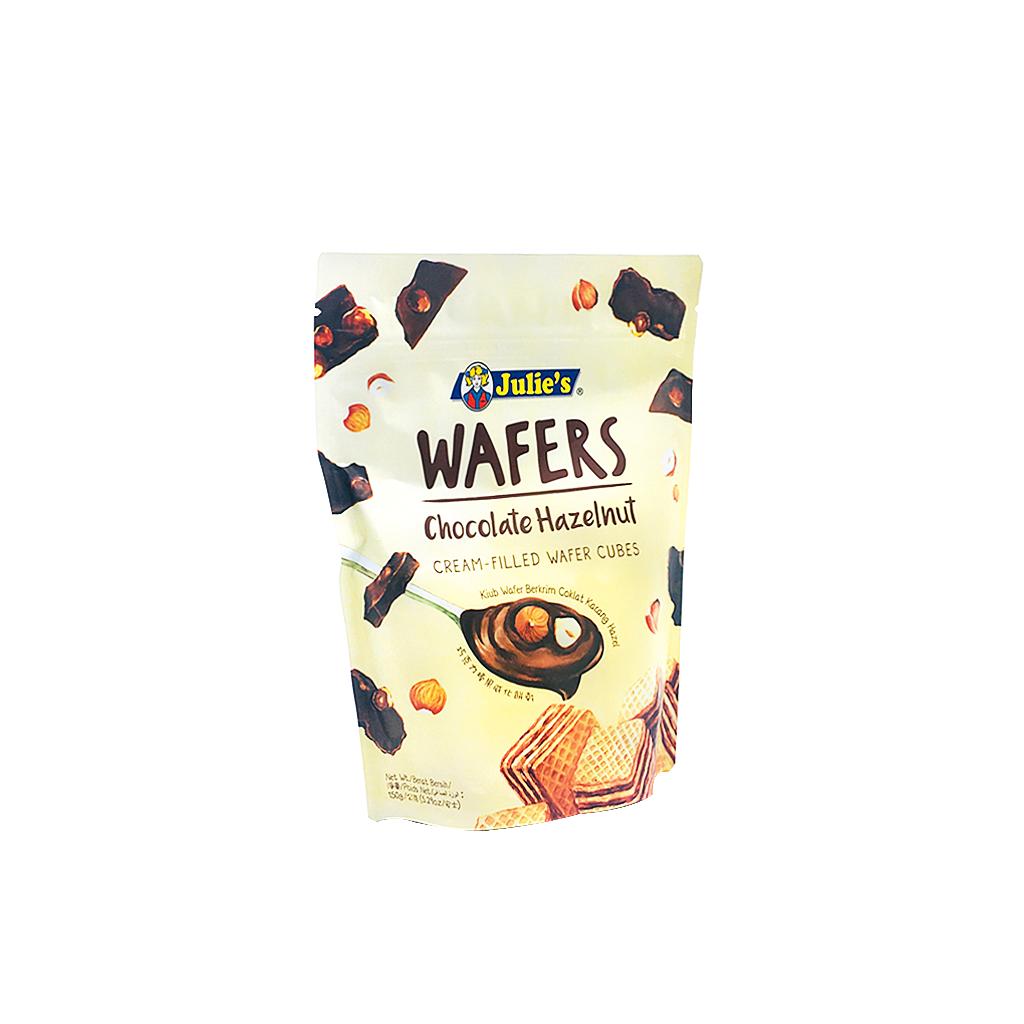 JULIE'S WAFERS CHOCOLATE HAZELNUT 60G