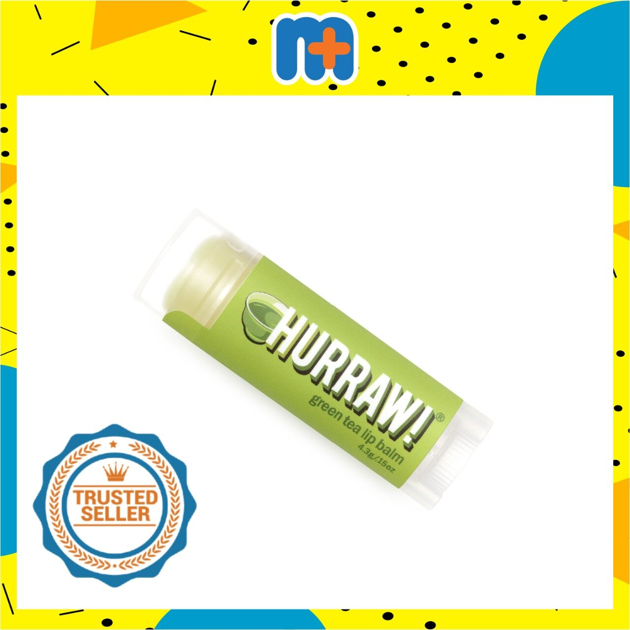 [MPLUS] HURRAW GREEN TEA LIP BALM 4.8G