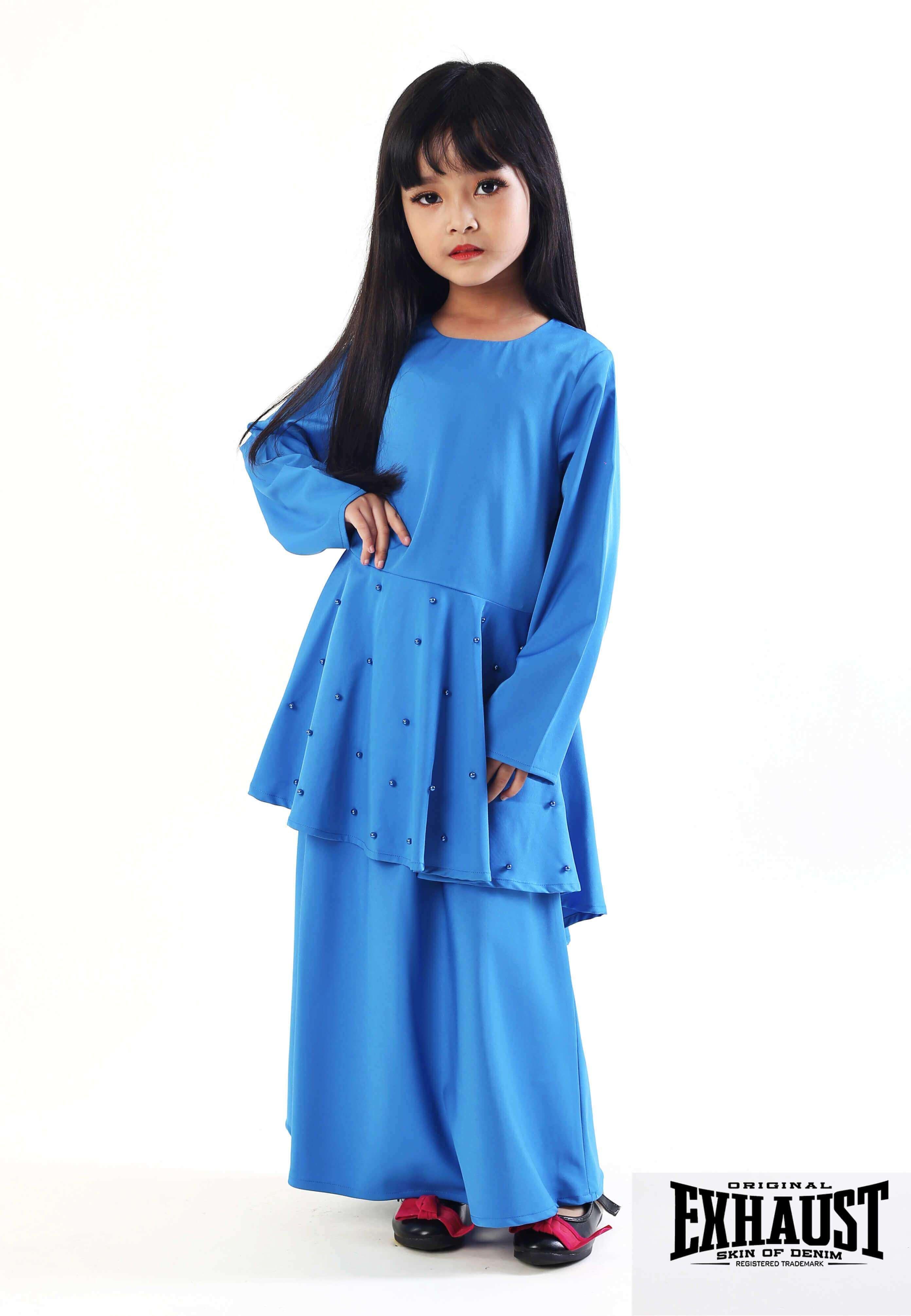 Exhaust Baju Kurung Fashion Kids 2915#4