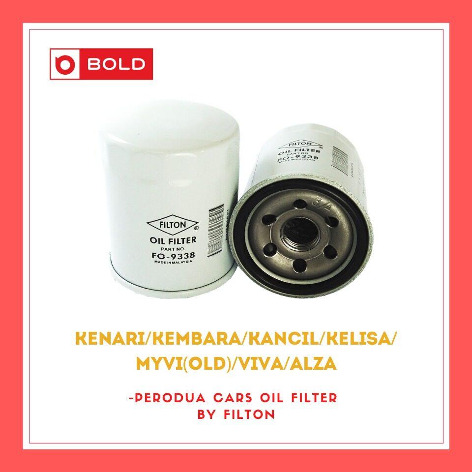 Perodua Engine Oil Filter Kenari / Kembara / Kancil / Kelisa / Myvi(old) / Viva/ Alza