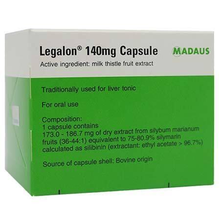 Legalon Capsule 140mg 100s