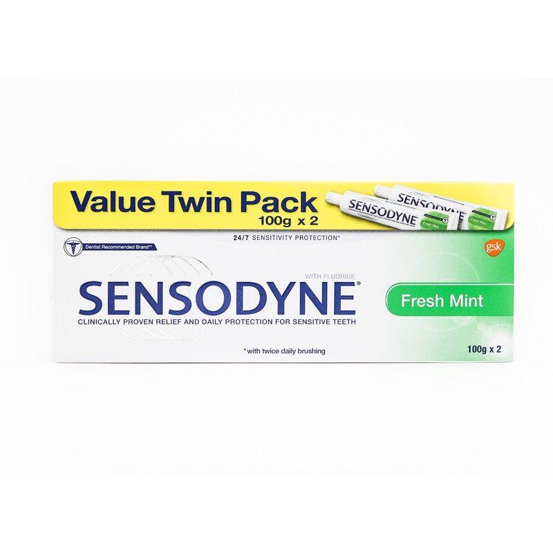 SENSODYNE Fresh Mint 2x100g (Pack of 2)