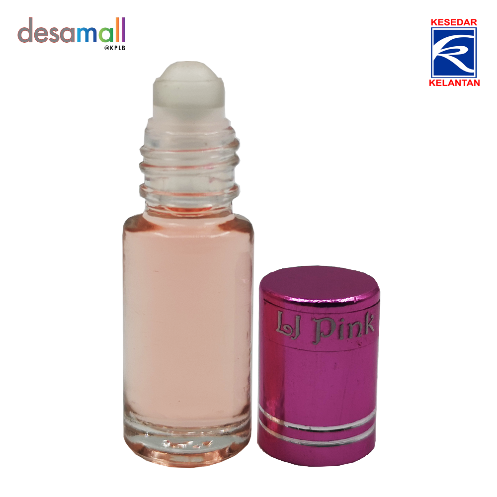 IBAUM LJ Body Perfume Roll On - Pink (3ml)