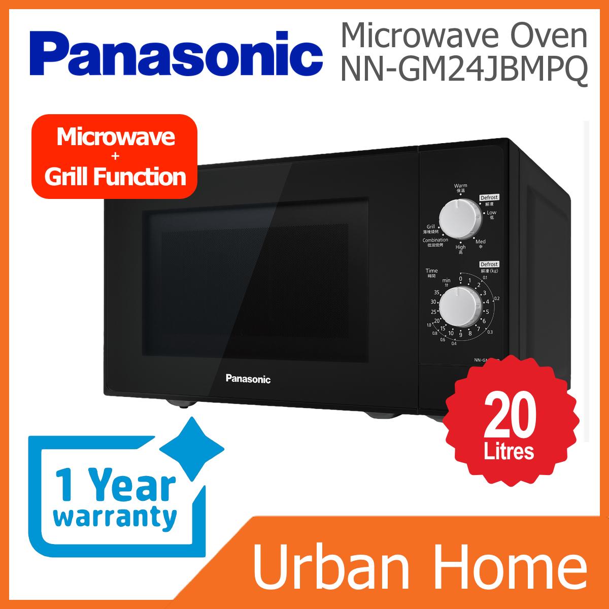 PANASONIC 20L Grill Combination Microwave Oven (NN-GM24JB/NNGM24JB/NN-GM24JBMPQ/NNGM24JBMPQ)