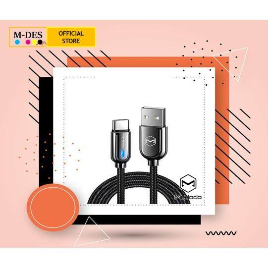 MCDODO Auto Disconnect Mirco USB LED Fast Charging Android Cable 1.2M - CA6200 [x1pc]