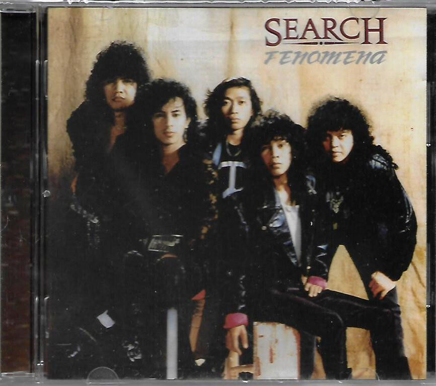Kumpulan Search - Fenomena 30th Anniversary CD Analog Mastering Limited Edition Malay Rock Music