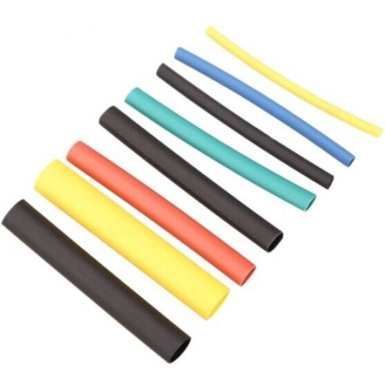 530 PIECE(s) Heat Shrink Tube SET Insulating Retractable Tube Wire Cable Sleeving Kit