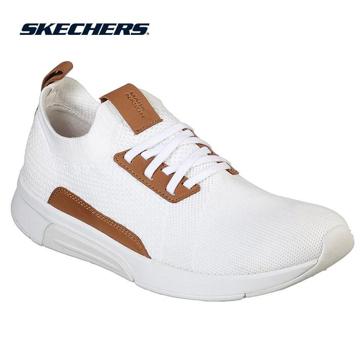 Skechers Modern Jogger Men Lifestyle Shoe - 68678-WHT
