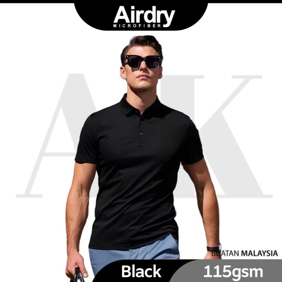 Airdry 3D Air Polo Shirt Microfiber Black M