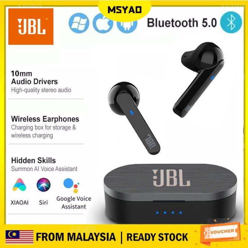 【Ready Stock in Malaysia】Bluetooth earphone TWS10 wireless earbuds gamingearbuds Wireless Bluetooth Earphone Smart Touch Stereo Earbud Headset With Charging Box For iPhone Android Huawei Xiaomi Samsung OPPO Vivo