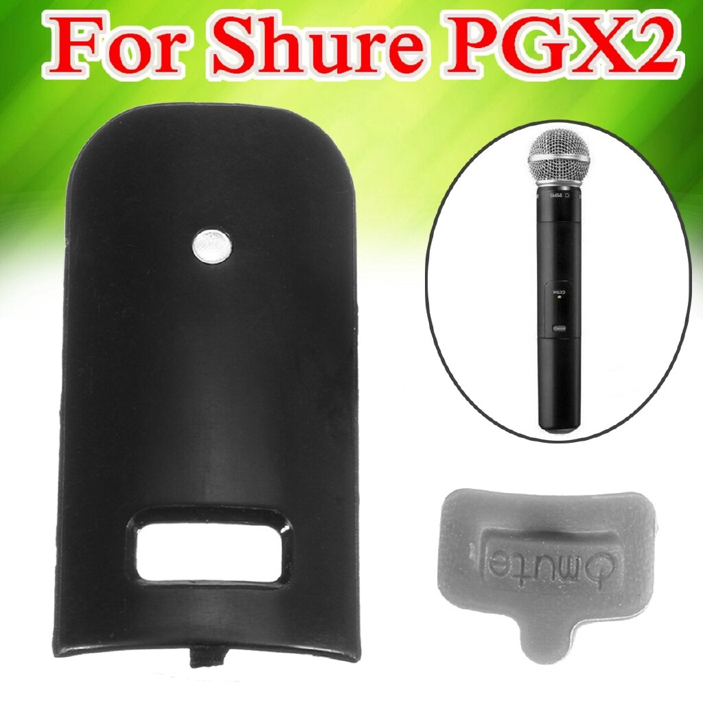 Microphones - 65B8532B Display Bezel Replace For Shure PGX2 Handheld Transmitters Microphone - Audio