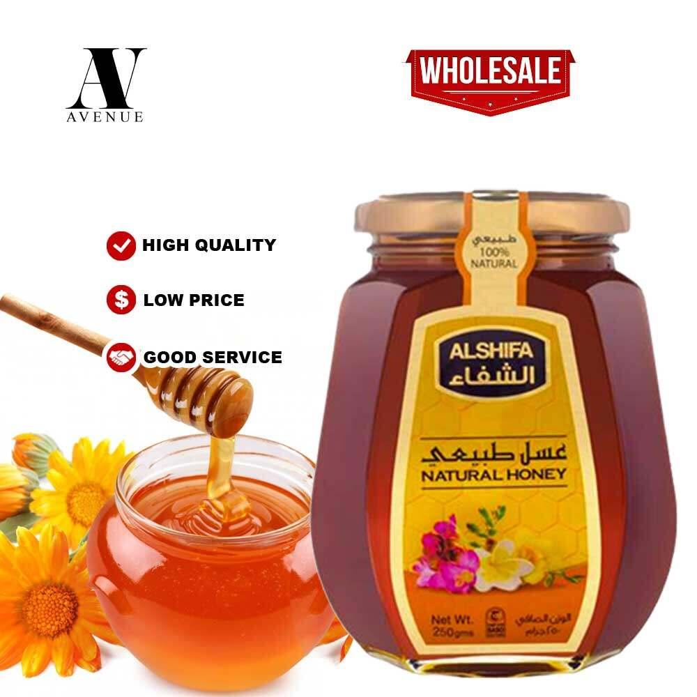 ALSHIFA NATURAL HONEY 250gm Original 100% Madu Asli