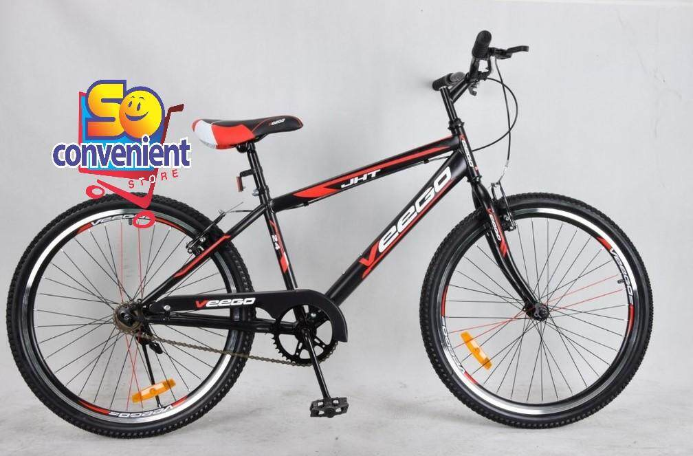 26  Veego Bicycle 2651 with Double Wall Rim Single Speed