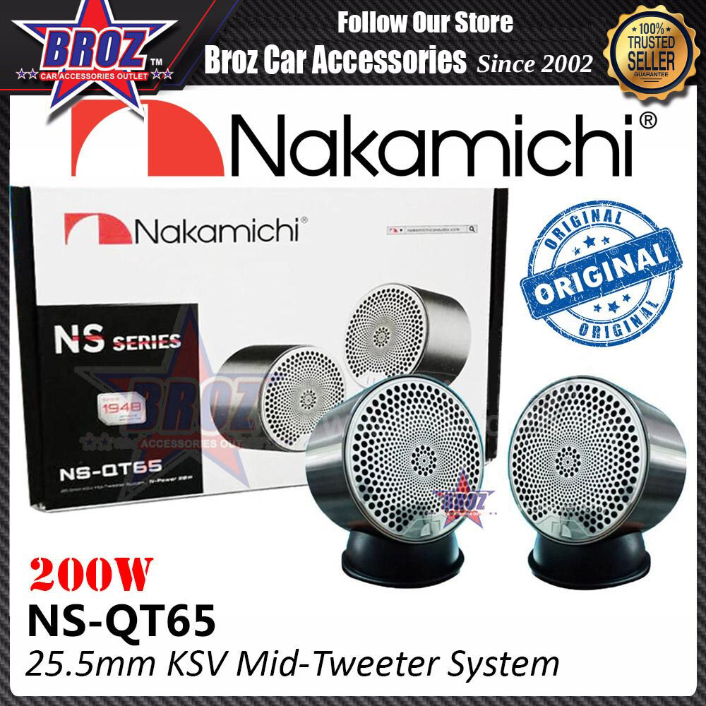 Broz Nakamichi NS SERIES NS-QT65 25.5MM KSV Mid Tweeter (200 Watts)