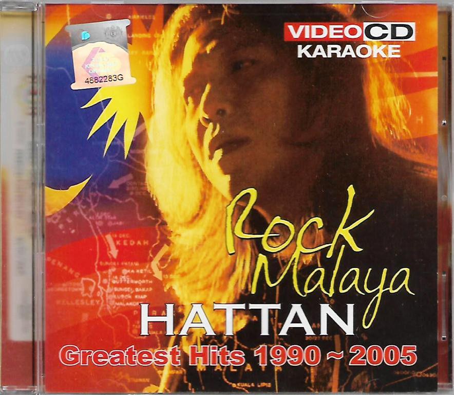 Hattan Greatest Hits 1990-2005 Rock Malaya VCD Karaoke
