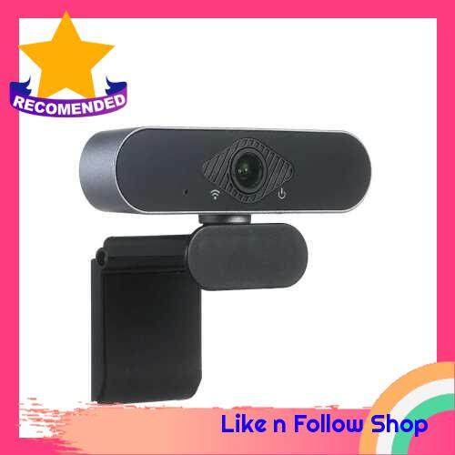 USB Webcam 1920*1080P HD 30fps PC Computer Camera Drive-Free Desktop/Laptop Camera with Microphone for Online Teaching Courses Live Streaming Video Chat Videoconference Compatible with Windows/Android/Linux (Standard)