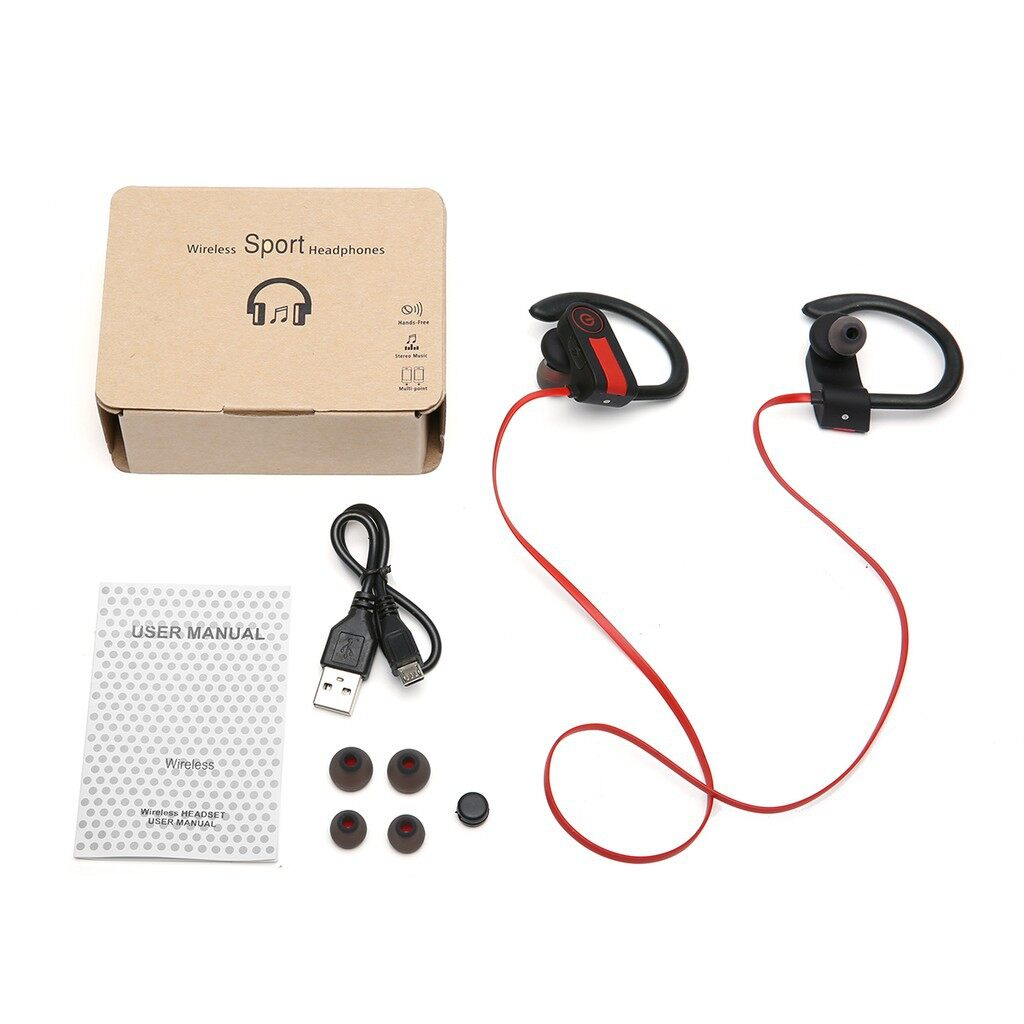 Mobile Audio Earbuds - GS01 earphone BLUETOOTH 4.1 CSR technology - BLACK / GREEN / BLUE / RED