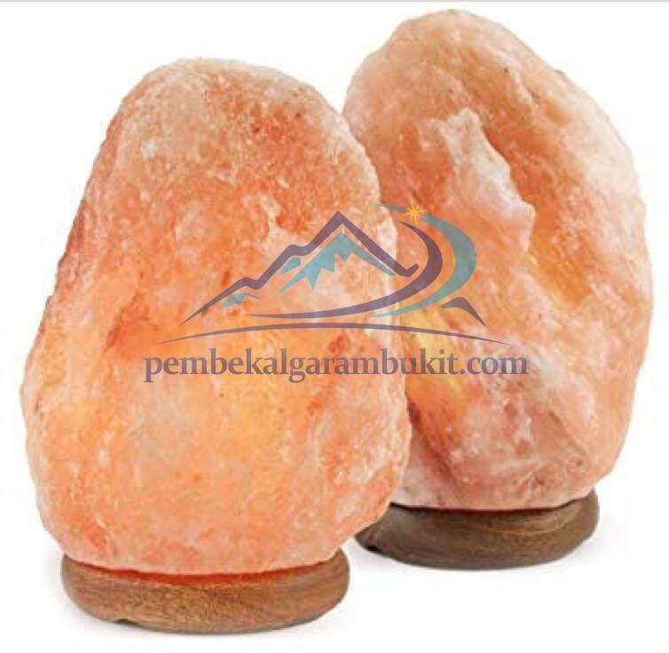 2 Himalayan salt crystal lamp mini 1.1-2kg