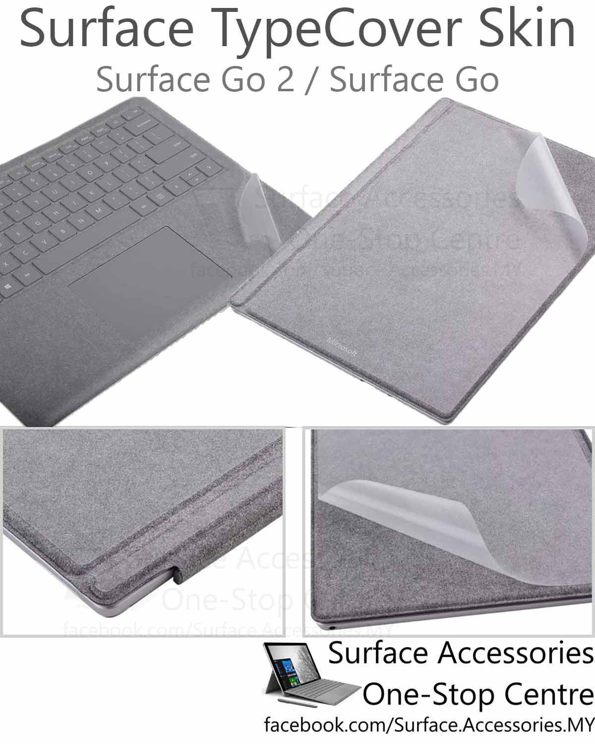 [MALAYSIA]Microsoft Surface Pro 7 Surface Pro 6 Surface Pro 5 Surface Pro 4 Surface Go 2 Surface Pro X Surface Go TypeCover Skin Keyboard Skin Keyboard Protector Palm Rest Protector