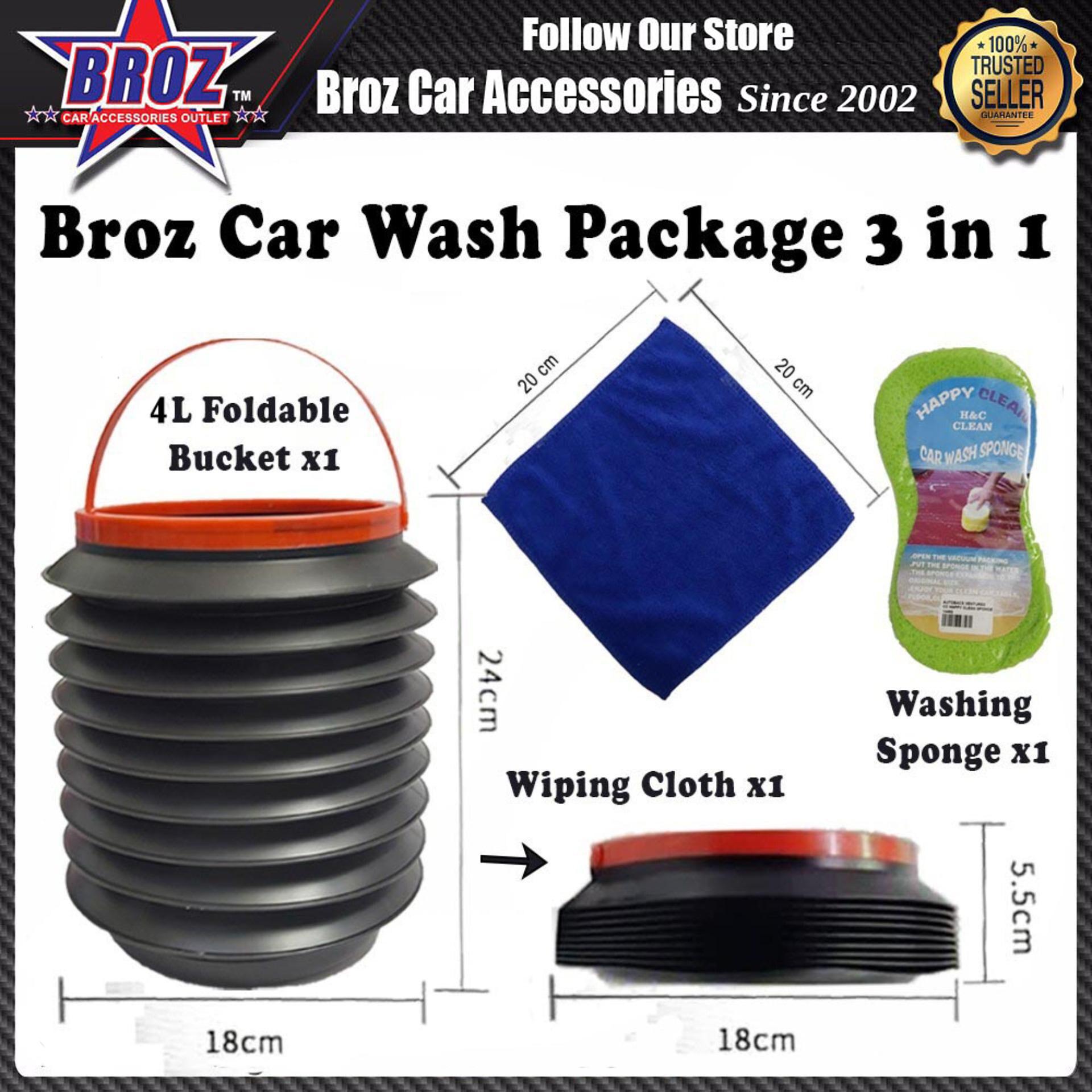 Broz Car Wash Package 3 in 1