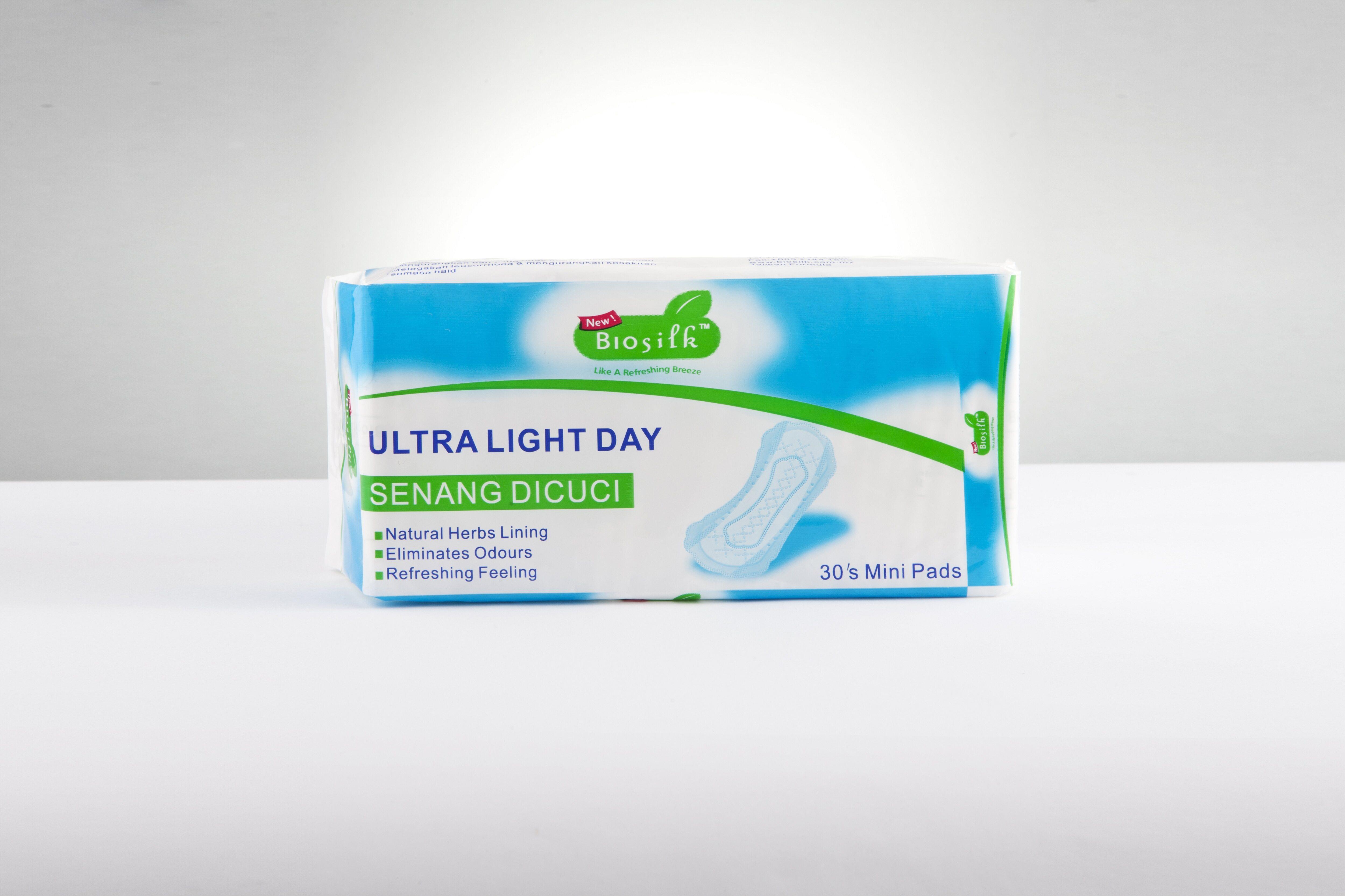 Biosilk Herbal Ultra Light Day 180mm 30's