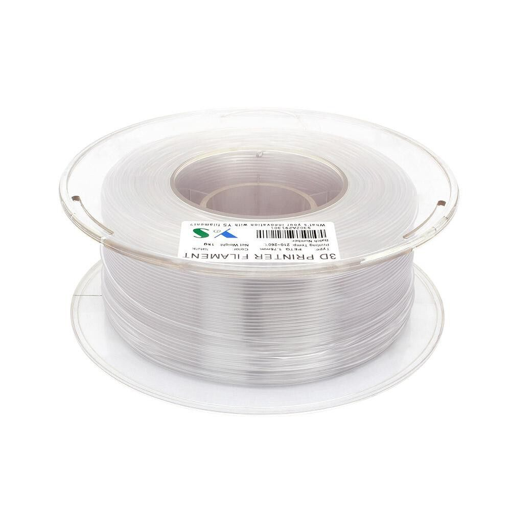 Printers & Projectors - PETG Filament 3D Printer Filaments 1.75 MM Dimensional Accuracy High Tenacity 3D Printing - NATURE / RED / WHITE / YELLOW / BLUE / BLACK / GREEN